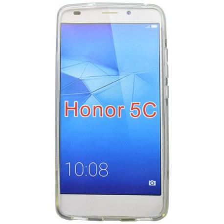Gumené puzdro (obal) S-Line Huawei Honor 7 Lite, transparentné