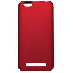 Hladké plastové puzdro / obal Lenovo Vibe C, červené