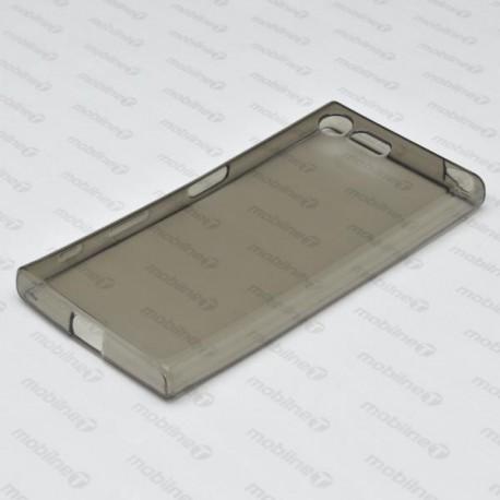 Gumené puzdro / obal Sony Xperia X Compact, sivé, anti-moisture