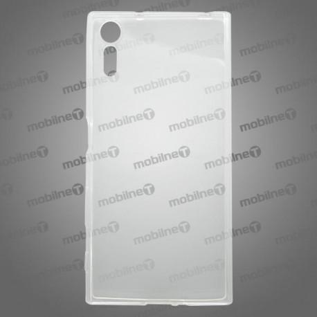 Gumené puzdro / obal Sony Xperia XZ, priehľadné, anti-moisture