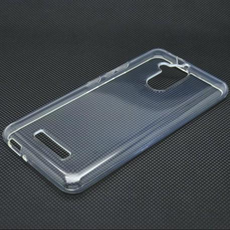Gumené puzdro Asus ZenFone 3 Max ZC520, transparentné