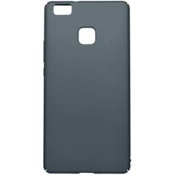 Hladké plastové puzdro / obal Huawei P9 Lite, sivé