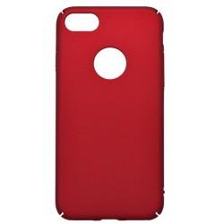 Hladké plastové puzdro iPhone 7, červené