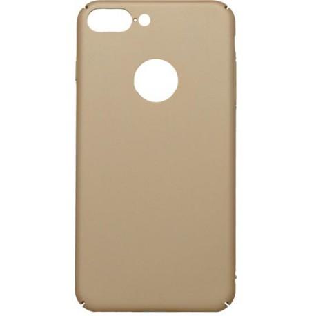 Hladké plastové puzdro iPhone 7 Plus, zlaté