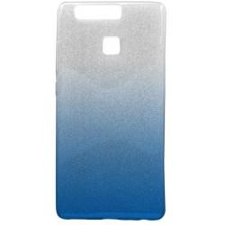 Ochranné puzdro / obal s trblietkami Huawei P9, modré
