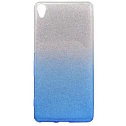 Ochranné puzdro / obal s trblietkami Sony Xperia XA, modré
