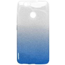 Ochranné puzdro / obal s trblietkami Huawei Nova, modré