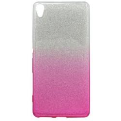 Ochranné puzdro / obal s trblietkami Sony Xperia XA, ružové