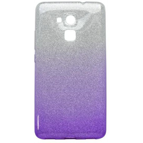 Ochranné puzdro / obal s trblietkami Huawei Honor 7 Lite, fialové