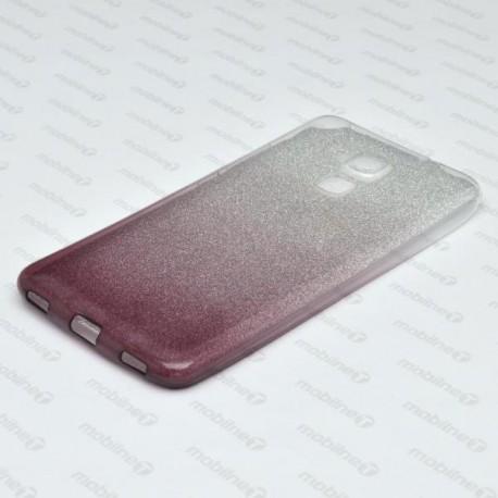 Ochranné puzdro / obal s trblietkami Huawei Honor 7 Lite, tmavofialové