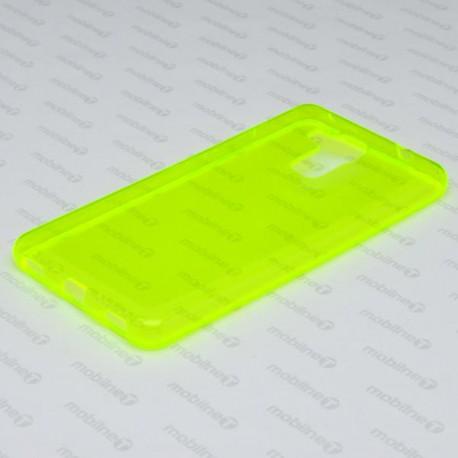 Gumené puzdro / obal Huawei Honor 7 Lite, zelené, anti-moisture