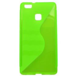 Gumené puzdro / obal S-Waves Huawei P9 Lite, zelené