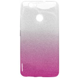 Ochranné puzdro / obal s trblietkami Huawei Nova, ružové