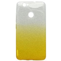 Ochranné puzdro / obal s trblietkami Huawei Nova, žlté