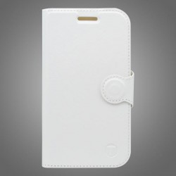 Bočné knižkové puzdro / obal Lenovo Vibe C2, biele