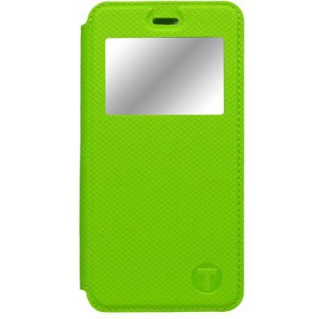 Bočné knižkové puzdro s okienkom Huawei Nova, zelené