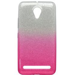 Ochranné puzdro / obal s trblietkami Lenovo Vibe C2, ružové