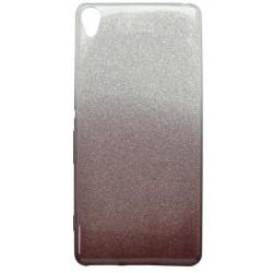 Ochranné puzdro / obal s trblietkami Sony Xperia XA, tmavofialové