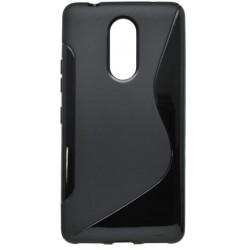 Gumený obal S-line Lenovo K6 Note, čierny