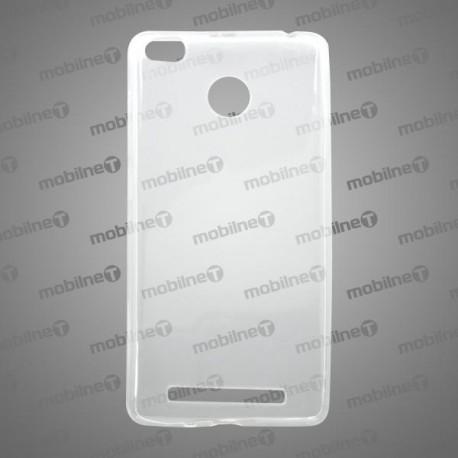 Gumené puzdro (obal) Xiaomi RedMi 3, priehľadné, anti-moisture
