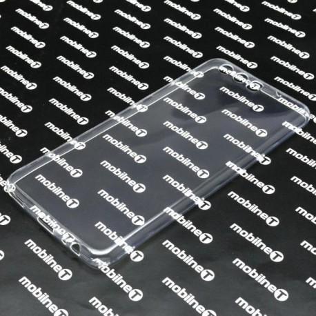 Gumené puzdro Huawei P10, priehľadné, nelepivé
