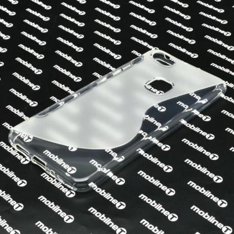 Gumené puzdro S-Line Huawei P10 Lite, transparentné