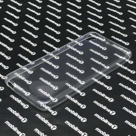 Gumené puzdro HTC Desire 628, nelepivé, transparentné