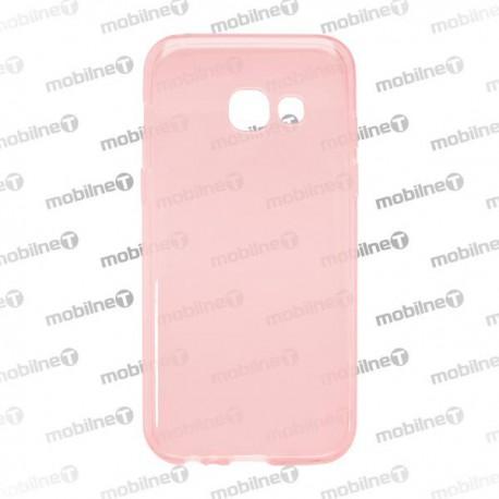 Gumené puzdro SamsungGalaxyA32017, ružové, nelepivé