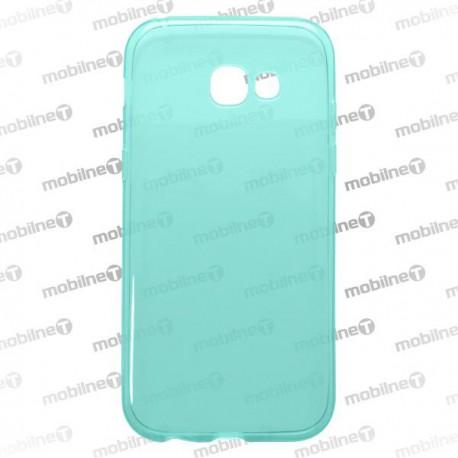 Gumené puzdro SamsungGalaxyA52017, modré, nelepivé