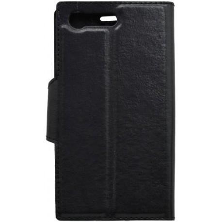 Knižkové puzdro bočné SonyXperiaXCompact, čierne
