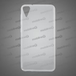 Gumené puzdro HTC Desire 10, nelepivé, transparentné