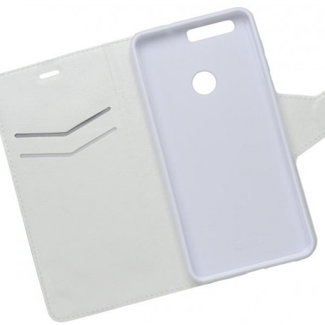 Bočné knižkové puzdro Huawei Honor 8, biele