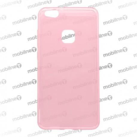 Gumený kryt Huawei P10 Lite, ružový, nelepivý