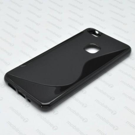Gumený obal S-Line Huawei P10 Lite, čierne