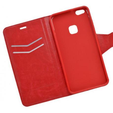 Bočné knižkové puzdro Huawei P10 Lite, červené