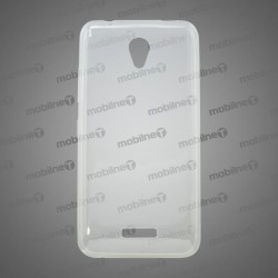 Gumené puzdro Lenovo Vibe B, nelepivé, transparentné