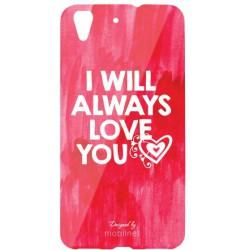 Vzorované puzdro s valentínskym motívom Huawei Y6 II, I will always love you