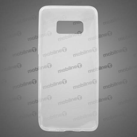 Gumené puzdro Samsung Galaxy S8, priehľadné, nelepivé