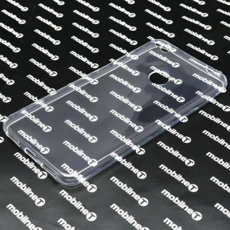 Gumené puzdro HuaweiP8Lite2017, priehľadné, nelepivé