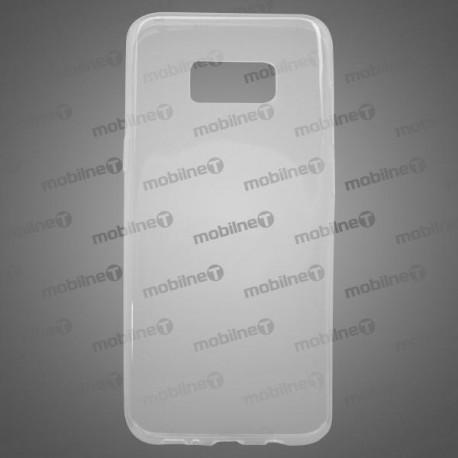 Gumené puzdro Samsung Galaxy S8 Plus, priehľadné, nelepivé