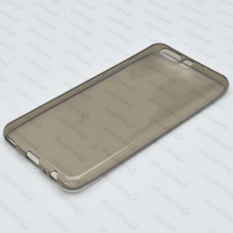 Gumené puzdro Huawei P10, sivé, nelepivé