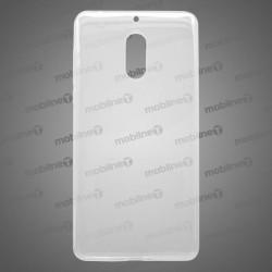 Gumené puzdro Nokia 6, priehľadné, nelepivé
