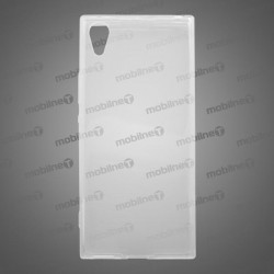 Gumený obal Sony Xperia XA1, priehľadný, nelepivý