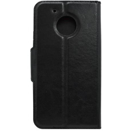 Bočné knižkové puzdro Moto G5, čierne
