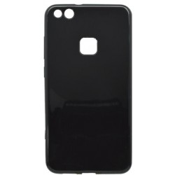 Matné gumené puzdro Huawei P10 Lite, čierne