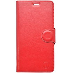 Bočné knižkové puzdro Lenovo Vibe C2, červené