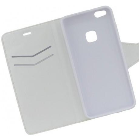 Bočné knižkové puzdro Huawei P10 Lite, biele