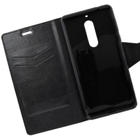 Bočné knižkové puzdro Nokia 5, čierne
