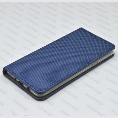 Bočné knižkové puzdro (obal) Samsung Galaxy J5 2016, tmavomodré, metalické
