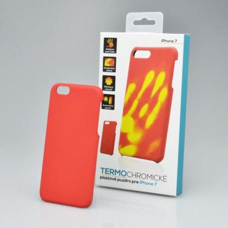 Termochromické puzdro iPhone 6, červené